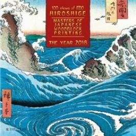 Nástěnný kalendář - Hiroshige - Masters of Japanese Woodblock Painting 2018