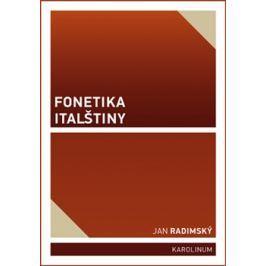 Fonetika italštiny - Jan Radimský