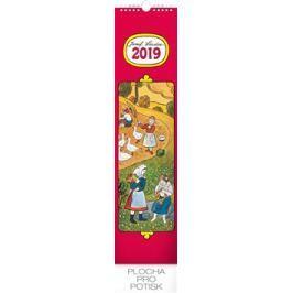 Nástěnný kalendář Josef Lada – Děti 2019