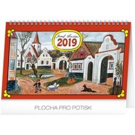 Stolní kalendář Josef Lada – Na vsi 2019