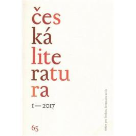 Česká literatura 1/2017