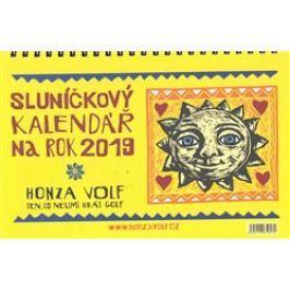 Sluníčkový kalendář 2019 - stolní - Honza Volf
