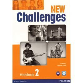 New Challenges 2 Workbook & Audio CD Pack - Liz Kilbey