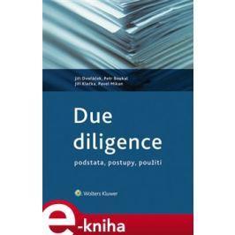 Due diligence - Jiří Dvořáček, Petr Boukal, Jiří Klečka, Pavel Mikan
