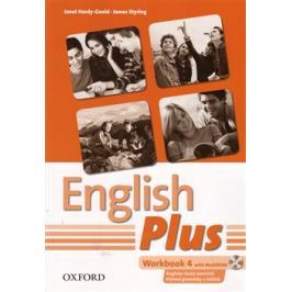 English Plus 4 Workbook with MultiROM (Czech Edition) - J. Hardy-Gould