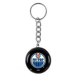 Přívěsek na klíče SHER-WOOD puk NHL Edmonton Oilers