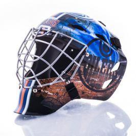 Mini brankářská helma Franklin NHL Edmonton Oilers