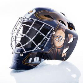 Mini brankářská helma Franklin NHL Nashville Predators