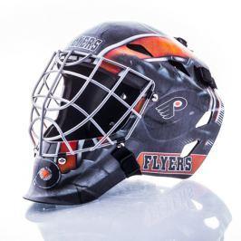 Mini brankářská helma Franklin NHL Philadelphia Flyers
